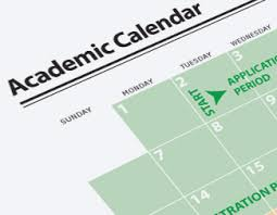 School of Aerospace Academic Calendar